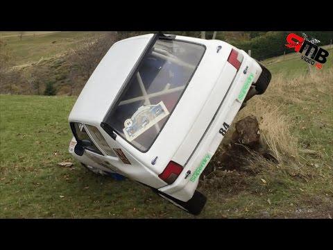 Rallye de l'ardèche 2016 crash et limit (test 4K)