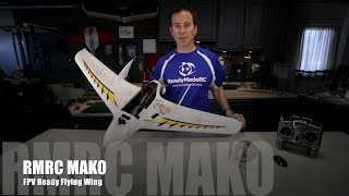 GSTV - RMRC Mako PNP Flying Wing - FPV