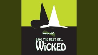 The Wizard And I Karaoke Version