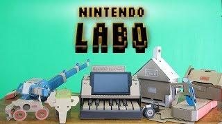 Nintendo Labo and Theories of Edutainment