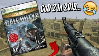 Is Call Of Duty 2 Still Playable Online In 2019..? LOL