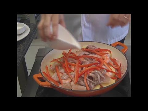 Cozinha e Cultura - Caldeirada com frutos do mar