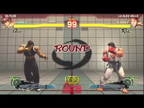 SSF4: EG Floe vs LU Alex Valle - NCRX Top 8