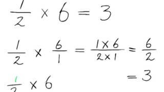 SGR rekenen met breuken 28 - Vermenigvuldigen van een breuk en een heel getal