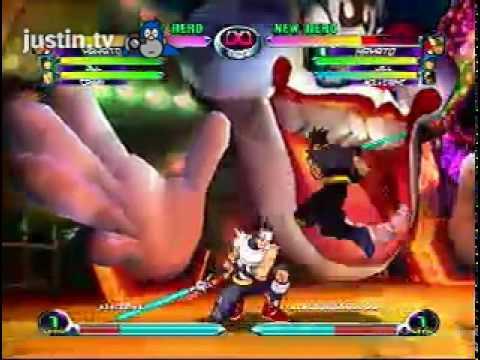 Marvel vs Capcom 2-WOOPING ASS IN STREET HOOPZ
