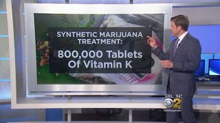 Vitamin K donation to counteract synthetic marijuana