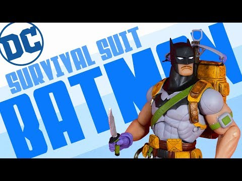 DC Collectibles Greg Capullo Designer Series Zero Year Survival Suit Batman Action Figure Review