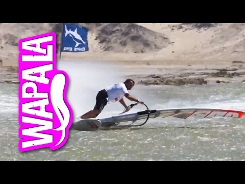 Antoine Albeau broke the windsurf world speed record : 50.62 knots in Luderitz, Namibia