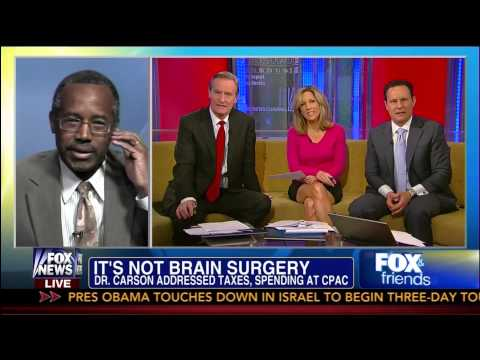 Dr. Benjamin Carson on Rush Limbaugh's Comments - Fox & Friends - 3/20/13