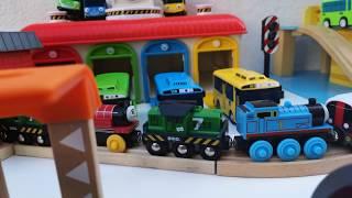 Thomas & Friends, BRIO World,  Smart Tech Railway - Washing Station,  Bus TAYO video for children