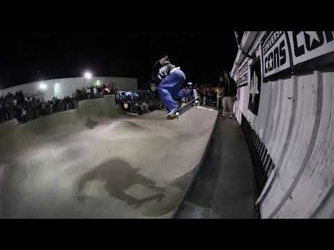 CLAY KRIENER FIRST PLACE BEST TRICK OVER THE DOOR GAP TAMPA PRO 2020 CONVERSE CONS JAM RAW REEL