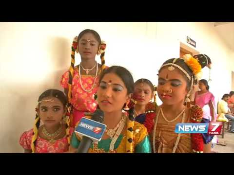 Salem district level classical dance championship | News7 Tamil