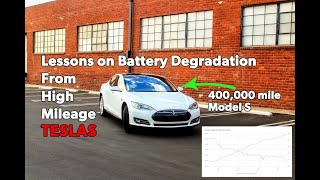Lessons From A Fleet Of High Mileage Teslas & Their Battery Degradation