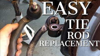 2007 - 2013 Mazda CX-7 Tie Rod Replacement - DIY How To