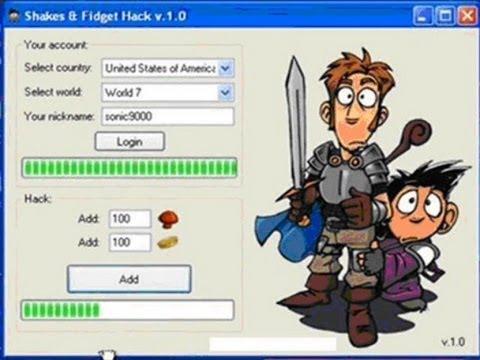 HACK SHAKES & FIDGET GAME 2013 NEW - Czyli jak oszukują ludzie na YT