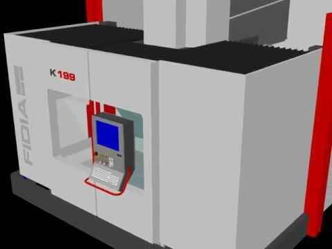 3D K199 Simultaneous 5-axis High Speed Machining Fidia
