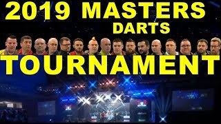 Masters 2019 Darts Tournament