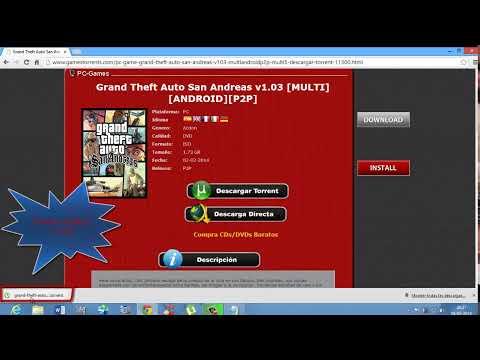 Como Descargar Juegos De PC Gratis y Español (2014)