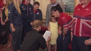 Six-year-old girl thanks Prince Harry for Invictus Games