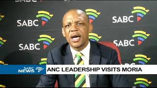 Pule Mabe on ANC leadership visit to Moria