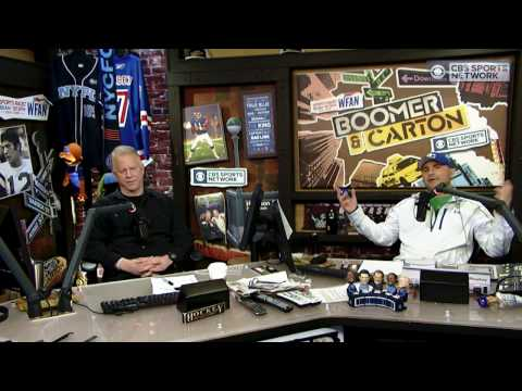 Boomer and Carton: How many Hall of Fame players has Tom Brady played with?
