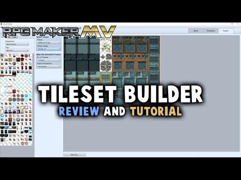 Tileset Builder Tutorial/Review - RPG Maker MV Tools