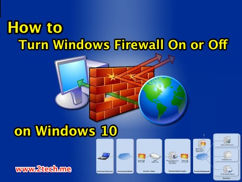 How to Turn Windows Firewall On or Off in Windows 10