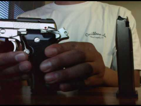 pistola pietro beretta cheetah 84fs 380 9mm tipo (((RAFAGA))) Video