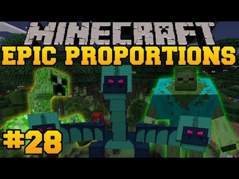 Minecraft: Epic Proportions Hydra Boss Fight Episode 28 S2 Modded Survival