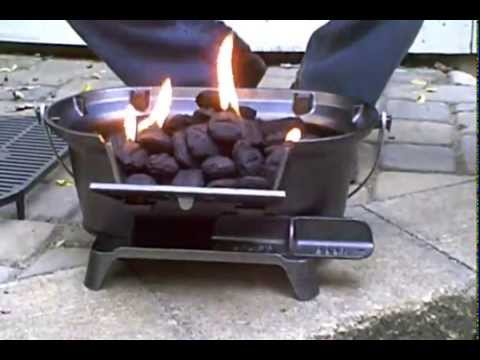 Lodge Sportsman S Charcoal Hibachi Grill Amp Pigtail Food