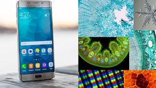 Turn your Smartphone into a Digital Microscope | 150 X - 500 X  Magnification | Zoom