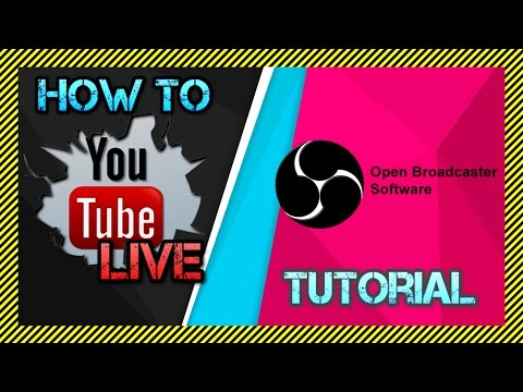 How To Live Stream on YouTube using OBS Studio - Basics Tutorial of YouTube Live Streaming with