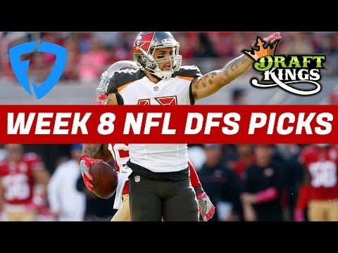 2017 Fantasy Football: Week 8 NFL DraftKings + FanDuel Picks & Preview