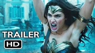 "Wonder Woman Trailer #3 ""Origin"" (2017) Gal Gadot, Chris Pine Action Movie HD"