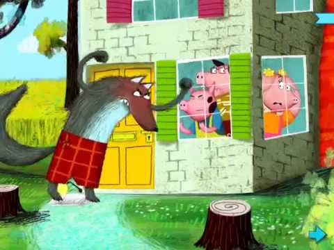 The three little pigs by nosy crow brief gameplay youtube