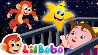 Twinkle Twinkle Little Star | Little BoBo Popular Nursery Rhymes | FlickBox Kids Songs