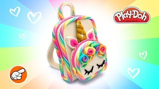 DIY Miniature Unicorn School Backpack. Learning Videos for Kids. Easy DIY for Kids