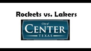 City League Rockets v Lakers Jan 12, 2019