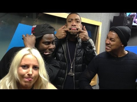 Wiley interview at Kiss FM (UK) - March 2013