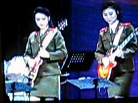 North Korean Pop Music video