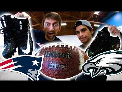 PATRIOTS VS EAGLES | SUPERBOWL 52 S K A T E