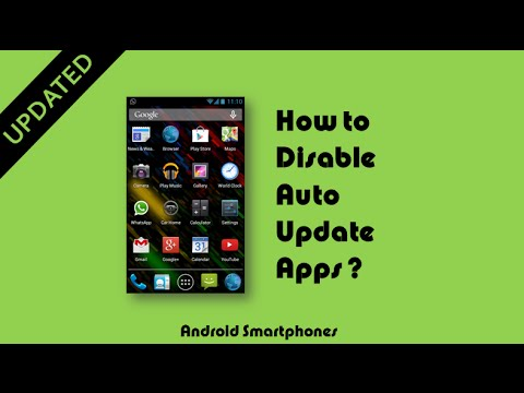How To Disable Auto Update Apps in Android Updated