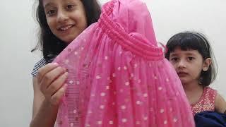 Unboxing Amazon Kids Lehenga |Amazon Ethnic wear Kids Clothes| Biba Girls Lehenga |Fun Bloggers