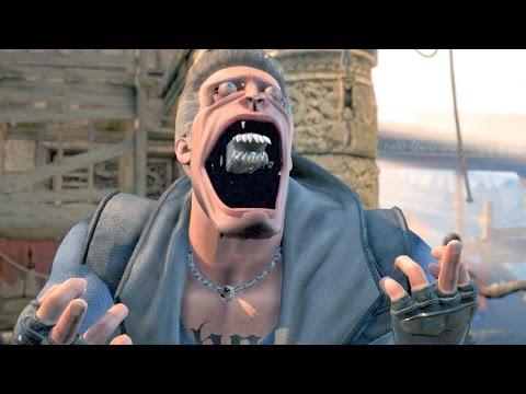 Mortal Kombat XL All Characters Perform Aliens Intro (Entrance 1)
