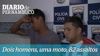 Dois homens, 82 assaltos