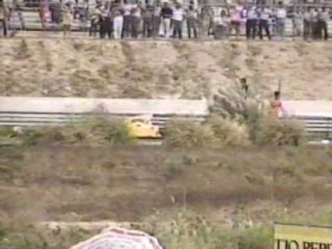 Martin Donnelly horrific crash 1990