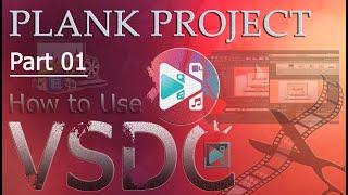 "VSDC Free Video Editor - Chỉnh Sửa Video Với ""Blank Project""_Part 01"