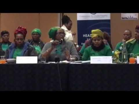 Commission for Gender Equality concerned at lack of female leaders