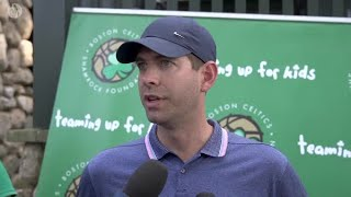Brad Stevens Talks About the Upcoming Season at the Shamrock Foundation Golf Tournament
