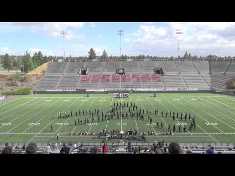 2014 Mt. Spokane High School Marching Band - Pacific NW Marching Band Championships Prelims